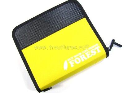 Кошелек для блёсен Forest Lure Case New - размер L цвет Желтый