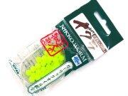 """Имитация лососевой икры Nikko Worm Ikura Salmon Eggs 2.8"""" #071 Glow 8шт/уп"""