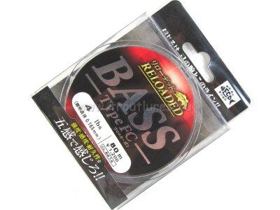 Флюорокарбон Gosen Reloaded Bass Type FC 4.0lb 0.165mm 80m #Бесцветный