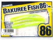 "Слаг Madness Bakuree Fish 86 3.4"" #01 5шт/уп"