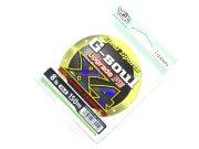 Плетеный шнур YGK G-soul Upgrade PE X4 8.0lb #0.4 150m #Зеленый