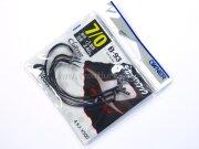 Крючки офсетные Owner Cultiva B-93 Dekappari Hook #7/0, 4шт./уп.