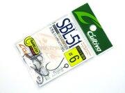 Крючки без бородки для блёсен Owner Cultiva SBL-51 #6, 10шт./уп.