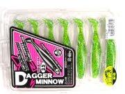 "Виброхвост Jackall Dagger Minnow 3.5"" #02 7шт/уп"
