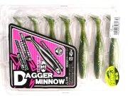 "Виброхвост Jackall Dagger Minnow 3.5"" #57 7шт/уп"