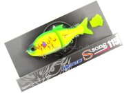 Воблер Gan Craft Jointed Claw Ssong F 115mm 34.0g #4344