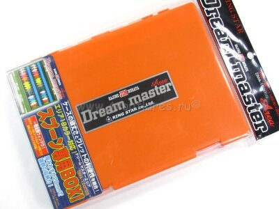 Коробка для блёсен RingStar DMA-1500SS #Оранжевый
