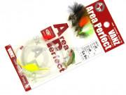 Оснастка на форель c 4 мухами Vanfook Area Trout Perfect AP-01, крюк 12/14 #6436