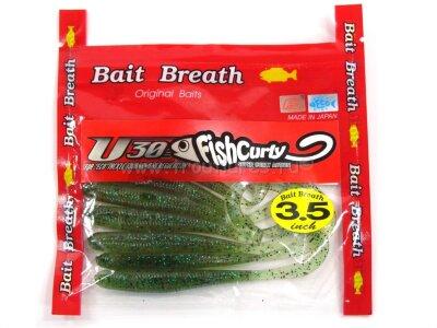 """Твистер Bait Breath U30 Fish Curly 3.5"""" #655 7шт/уп"""
